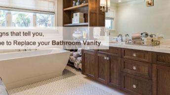Replace Your Bathroom Vanity